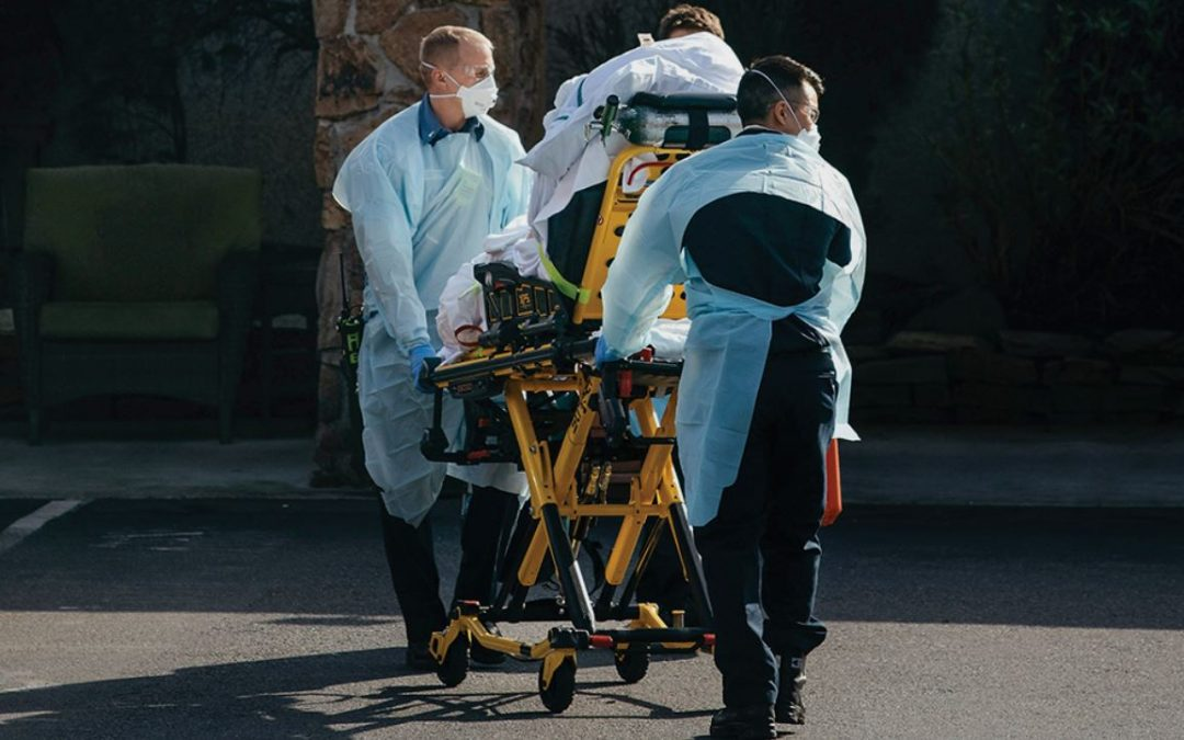 US COVID-19 death toll nears 50,000
