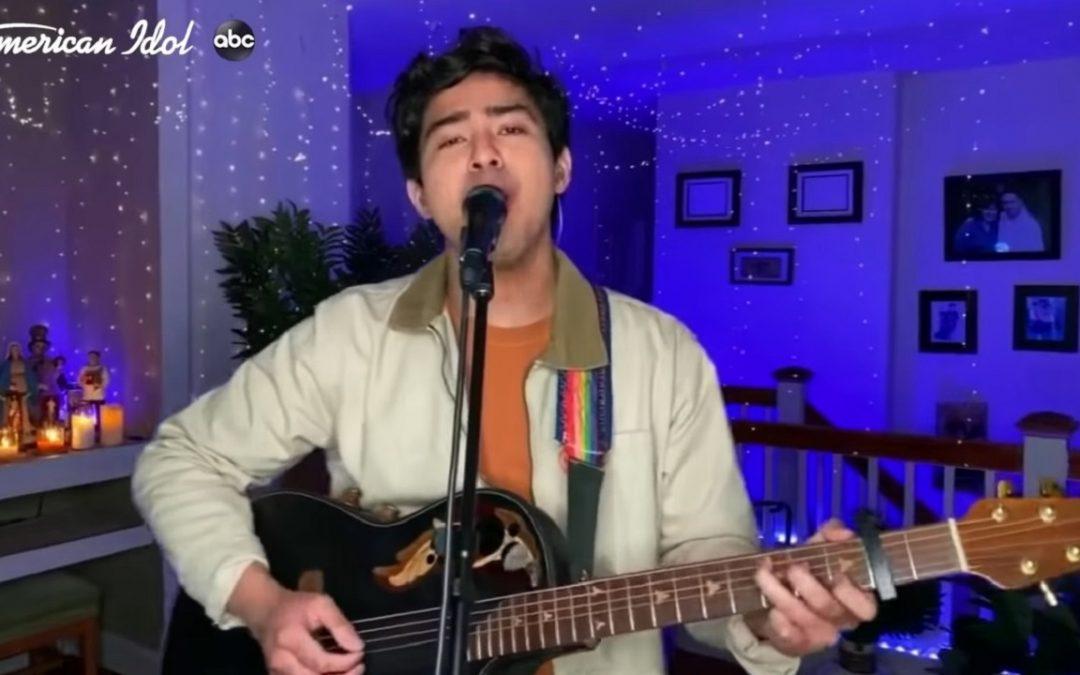 Fil-Am bet Francisco Martin enters American Idol top 11