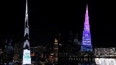 Photo of WATCH: Burj Khalifa dazzles with 393,000 lights in four days of donations