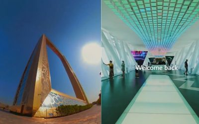WATCH: Dubai Frame reopens to public