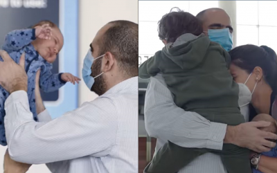 WATCH: Father meets newborn for the first time in UAE after global travel disruptions