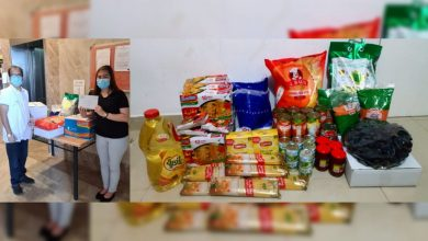 "Photo of LOOK: Terminated Filipina employee receives food package from Abu Dhabi's Ma'an ""Together We Are Good"" initiative"