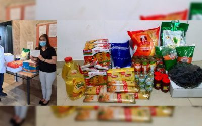 """LOOK: Terminated Filipina employee receives food package from Abu Dhabi's Ma'an """"Together We Are Good"""" initiative"""