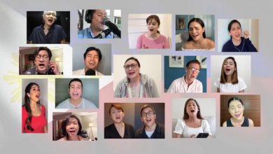 Photo of Filipino singers dedicate 'Habang may Buhay' for frontliners with new, empowering lyrics