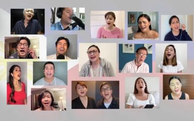 Filipino singers dedicate 'Habang may Buhay' for frontliners with new, empowering lyrics