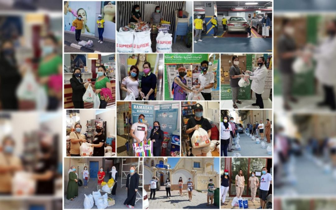 Kalayaan 2020 PID committee's 'Pagdulog 2020' initiative aids 1,945 individuals in Dubai and the Northern Emirates
