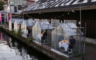 Dutch restaurant launches private capsules for social distancing