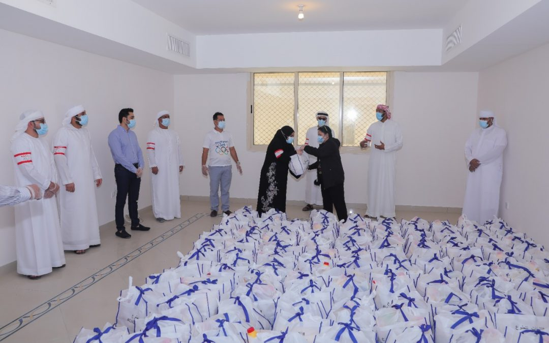 Emirates Foundation collaborates with FAB, LuLu Exchange to provide 16,000 boxes as part of 'UAE Volunteers' initiative this Ramadan 2020