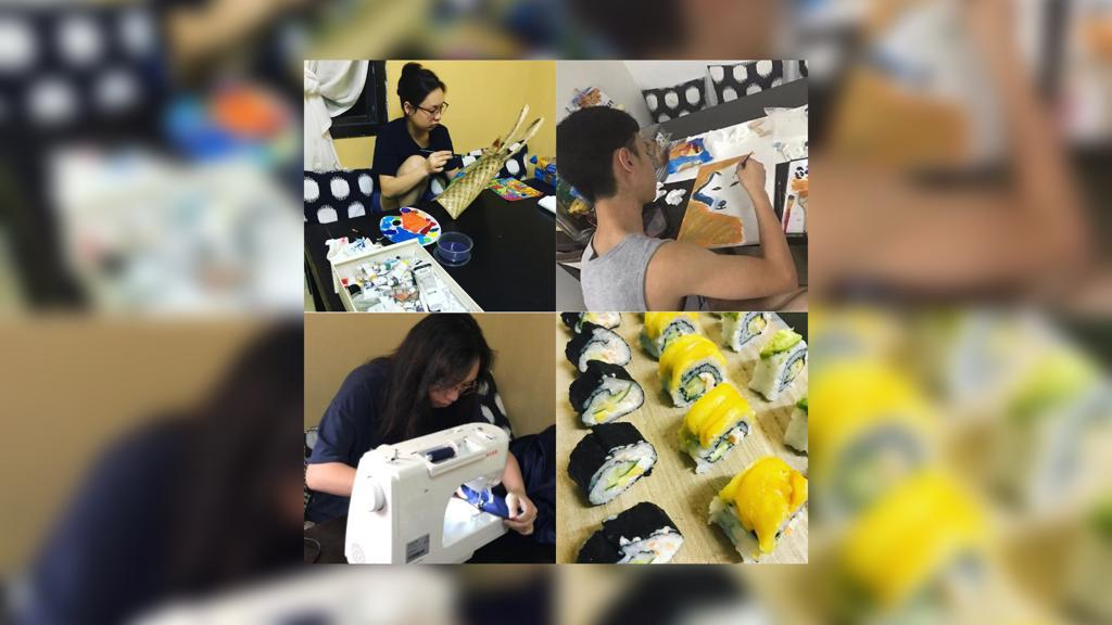 From bag painting to sushi-making: Filipina mom lets kids explore new activities amid COVID-19