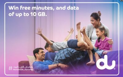 Get up to 10GB data for free with du's Ramadan Wishes