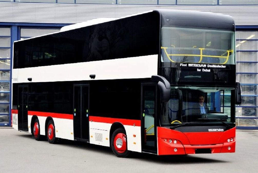 Dubai city bus schedules operational from 6:00 am to 11:00 pm, normal fares reinstated
