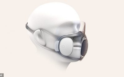 Chinese firm launches smart face mask that disinfects itself, can unlock smartphones