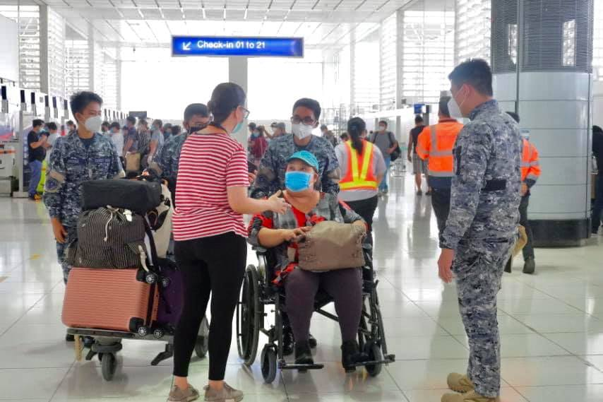 All Filipinos returning to PH will be quarantined in govt-approved facilities, home quarantine not allowed