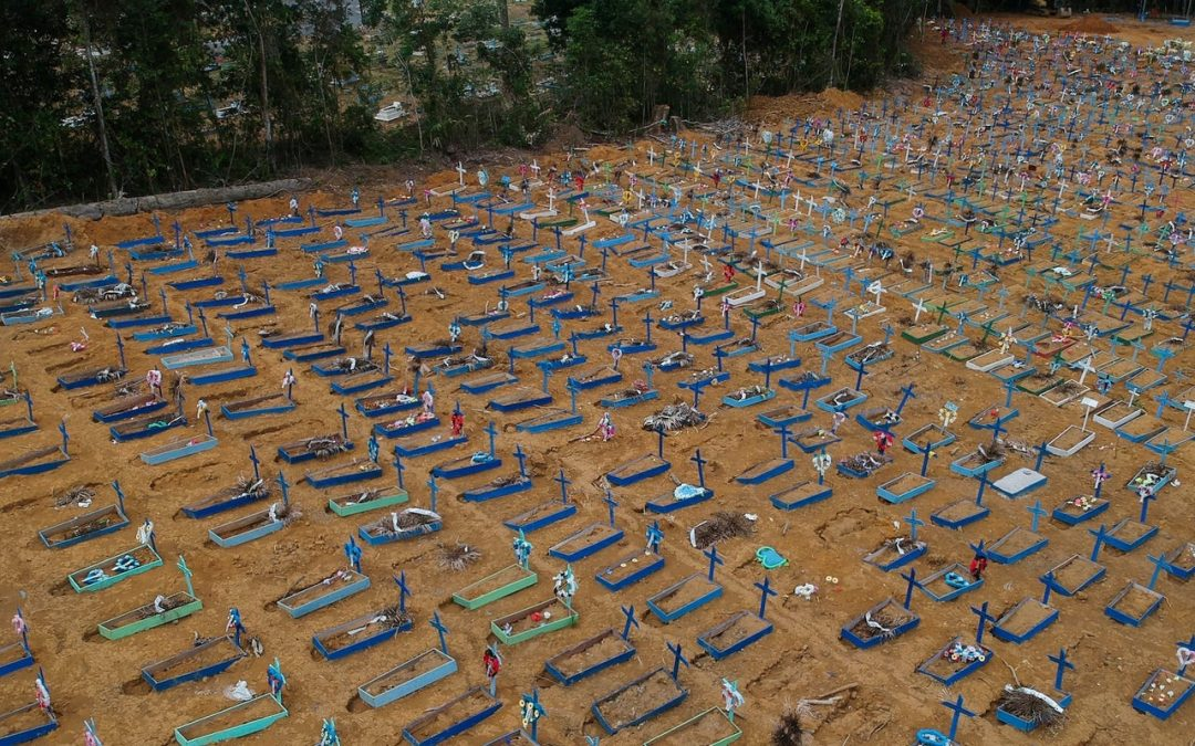 Photos of mass graves in Brazil become stark reminder of ruthless pandemic