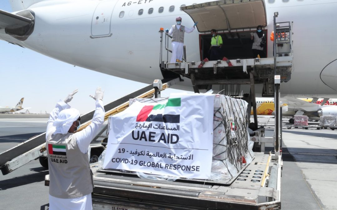 WATCH: UAE surpasses 500 metric tons of Global COVID-19 assistance with aid delivery to Belarus