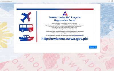 OWWA launches 'Uwian Na' website for OFWs in PH to facilitate flights back to provinces