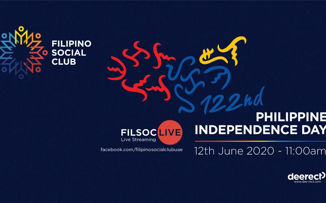 FilSoc to host live video streaming of the 122nd Philippine Independence Day 2020 celebration