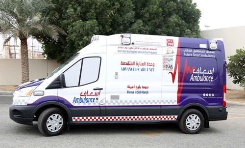 Dubai to use int'l tech to disinfect ambulances in 30 seconds