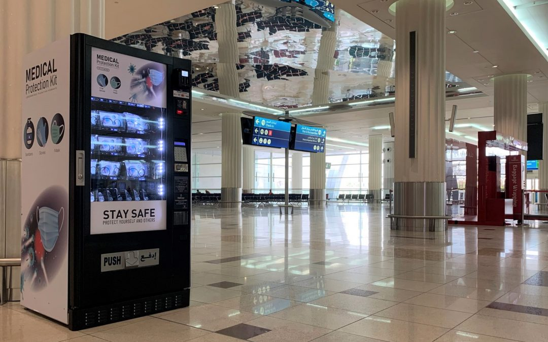 LOOK: Dubai Airport introduces PPE vending machines