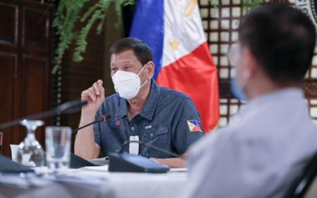 Presidential Security remains on 'high-alert' for President Duterte's health as quarantine in PH eases