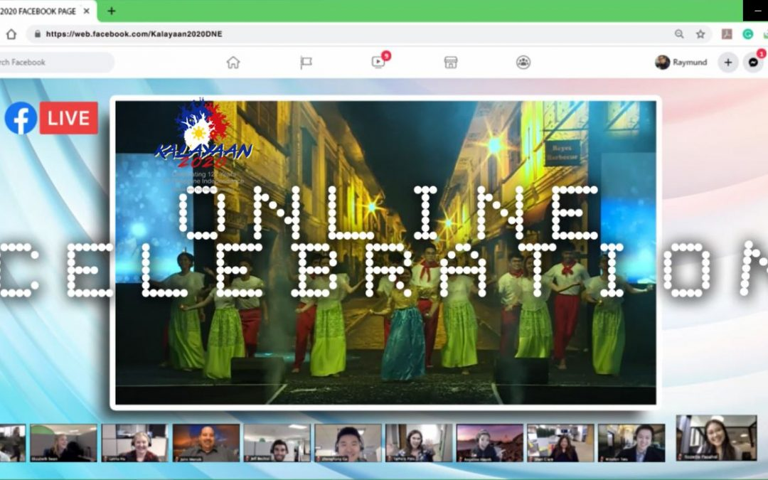 Kalayaan 2020 celebration for the Filipino community goes Online