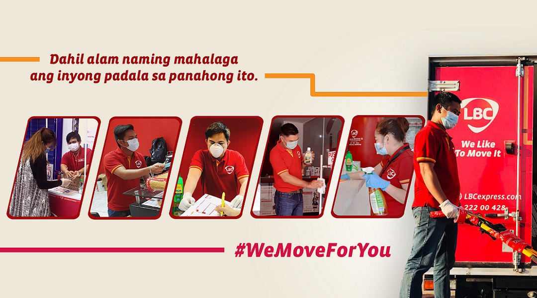 Moving together as one: LBC provides relentless service for Filipinos amid COVID-19 crisis