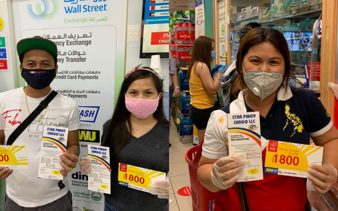 """Malaking tulong po ito sa akin"": Filipino winners thank Wall Street Exchange for being more than a trusted money exchange during these challenging times"