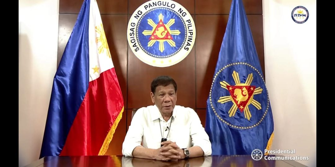 WATCH: President Duterte encourages OFWs to exhibit goodwill, tolerance on 122nd Philippine Independence Day