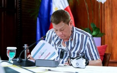 President Duterte awaits inputs from legal advisors on anti-terror bill