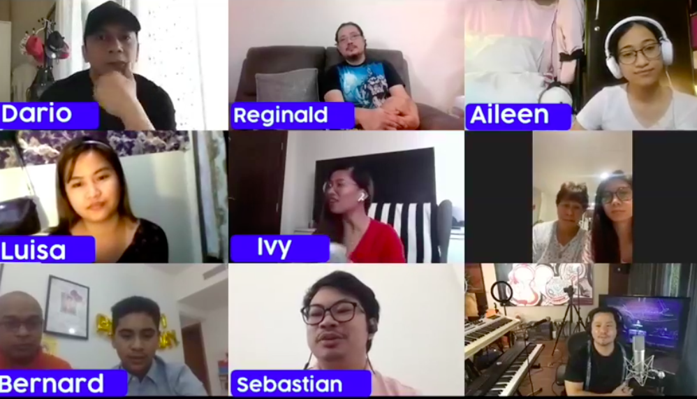 WATCH: Ogie Alcasid interacts with Dubai OFWs in his Facebook Live show