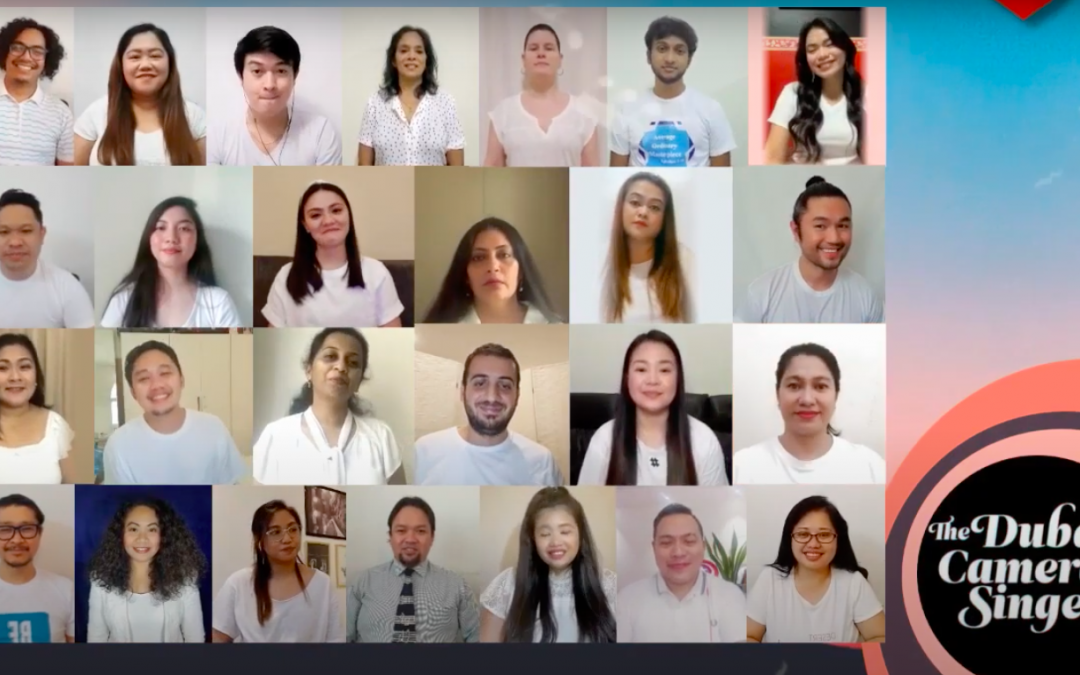 Filipino-founded Dubai Camerata Singers honor frontliners with cover of The Beatles' 'All You Need Is Love'