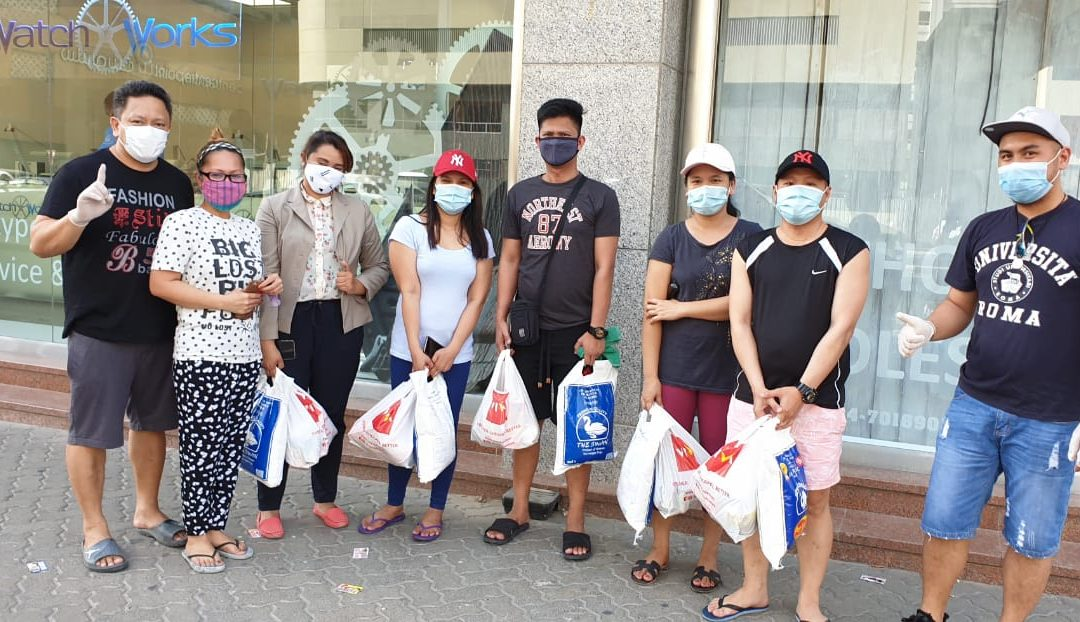 Meet this Dubai-based Pinoy whose relief aid initiative inspired even expats from other countries to donate