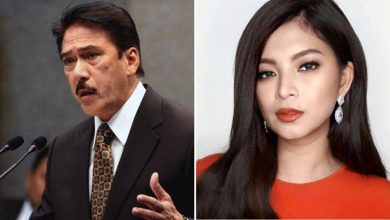 Photo of Angel Locsin calls out Tito Sotto for 'liking' a tweet that tags her as terrorist