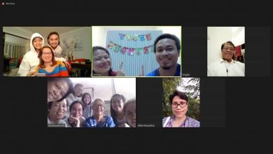 Photo of DIGITAL FAMILY REUNION: Family members from various countries surprise their lola on her 91st birthday via video call