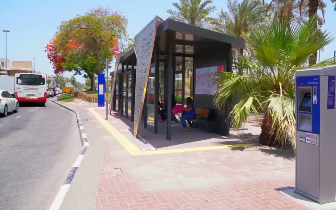 WATCH: RTA unveils new generation of bus shelters in Dubai