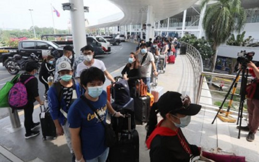 25,002 OFWs sent home from Manila quarantine centers in one week