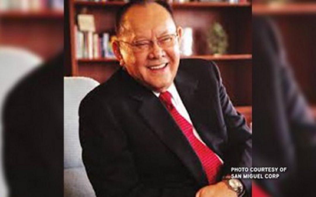 San Miguel Corp.'s Danding Cojuangco dies at 85