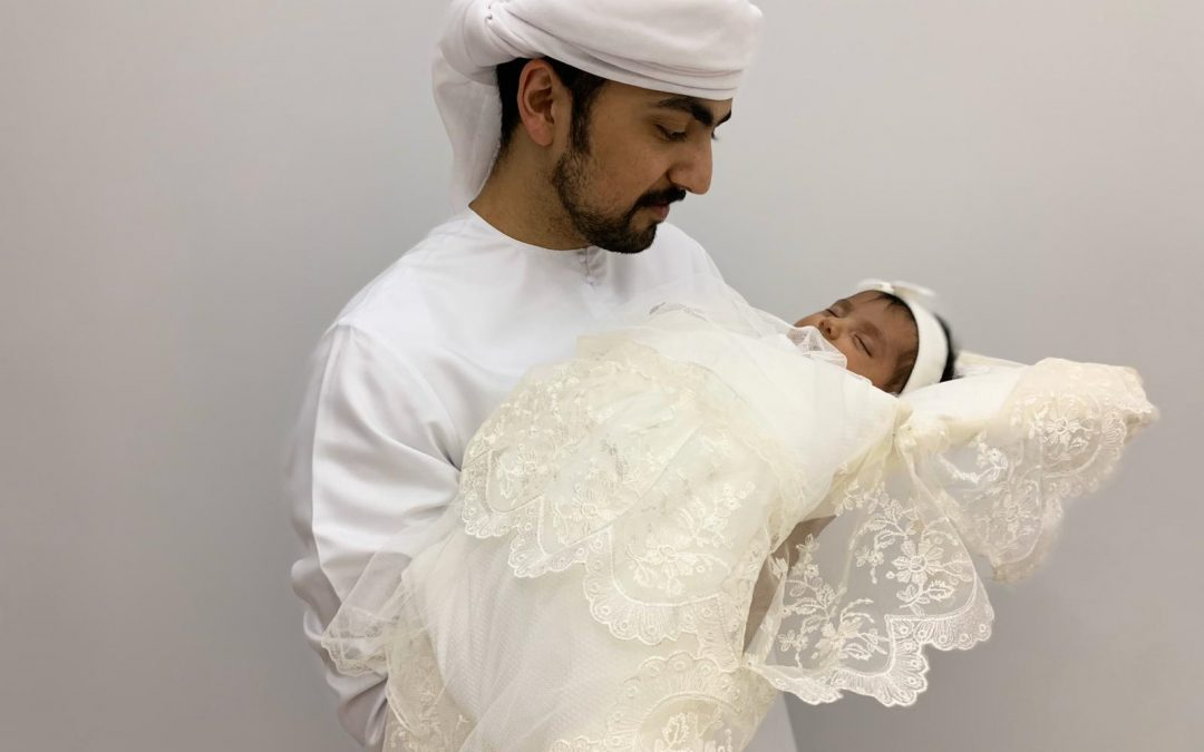 Two month-old baby, youngest Emirati stranded abroad, returns home