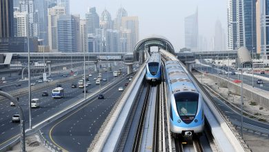 Photo of Dubai RTA reminds maximum capacity of two persons in elevators at Metro stations