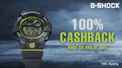 Photo of G-Shock offers 100% cashback on purchases till July 31
