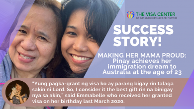 Photo of Making her mama proud: Pinay achieves her immigration dream to Australia at the age of 23
