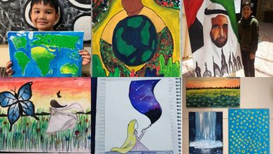 Photo of ARTISTS IN THE MAKING: These kids reflect true Filipino talent with extraordinary painting skills