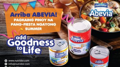 Photo of Enjoy festive Filipino fiesta dishes this summer with Abevia