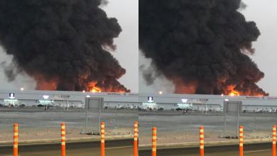Photo of WATCH: Massive fire engulfs Ajman market