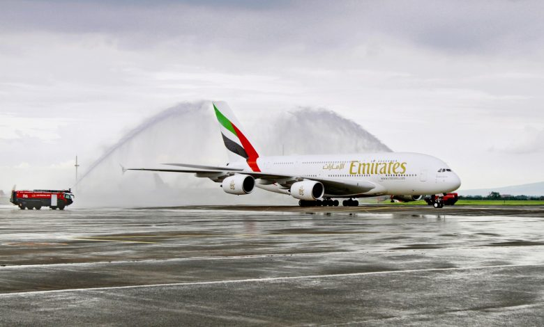 Photo of Emirates and Clark International Airport celebrate landmark one-off A380 service