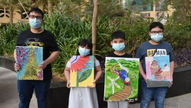Photo of Young Filipinos in UAE develop knack for painting during summer season