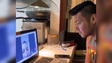 Photo of John Regala reunites with son over video call after 18 years