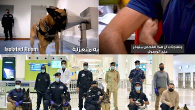 Photo of WATCH: Results of COVID-19 detection using K9 police dogs in UAE out in less than 1 minute