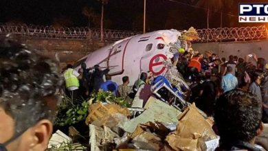 Photo of At least 15 dead after plane from Dubai breaks in two at Kerala airport