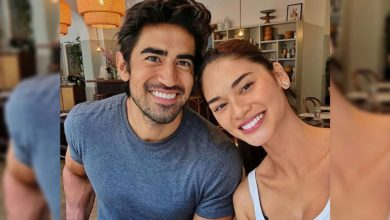 Photo of Pia Wurtzbach, Jeremy Jauncey enjoy first dinner date in London after quarantine